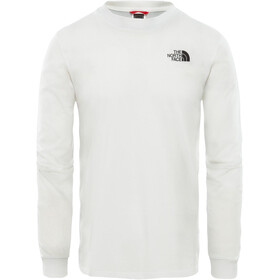The North Face Simple Dome Maillot manga larga Hombre, tnf white